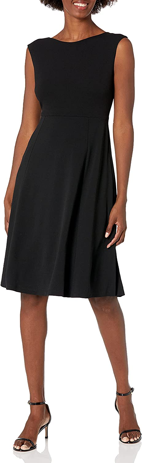 Amazon Brand - Lark Ro Women's Now free shipping Fit and Sleeveless Neck Fl Boat Al sold out.