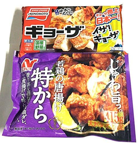 唐揚げ 餃子 セット 特から 415g1袋 餃子12個入 1袋 計2袋セット 冷凍