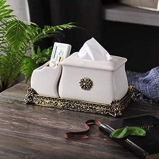 DGDHSIKG caja de condimento tarro de condimento de cerámica Caja de condimento para el hogar olla de sal combinación de tarro de especias suministros de cocina de tres piezas, 4