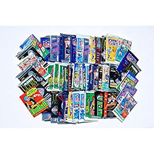 300 Unopened Football Cards Collection in Factory Sealed Packs of Vintage NFL Football Cards From the Late 80's and Early 90's