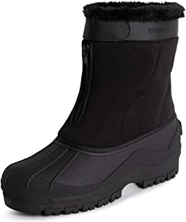 Polar Mens Muck Nylon Strap Duck Snow Winter Waterproof Rain Outdoor Boot