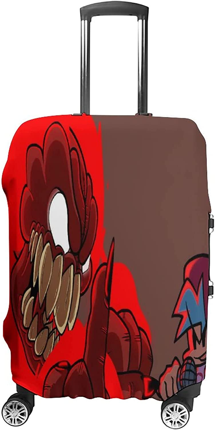 Tulsa Mall Luggage Cover Friday Night Funkin Inch Cheap sale 19-32 Suitcase Fits