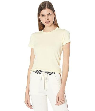 Three Dots 100% Cotton Heritage Knit Short Sleeve Crew Women