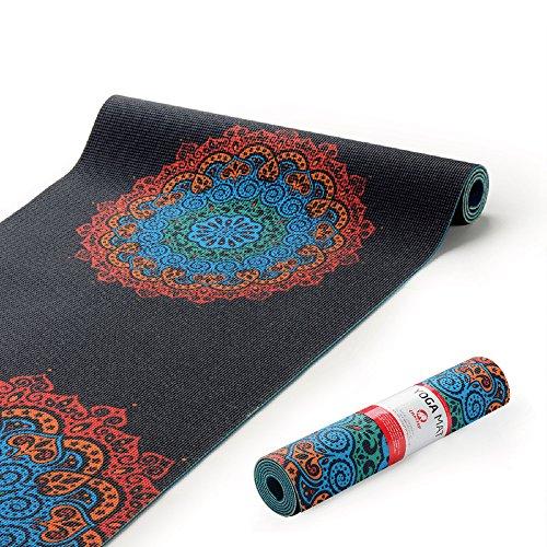 Chastep Premium Excercise Yoga Mat For Women, Eco Friendly - Non Slip & Anti Tear Workout Pilates Padding Fitness Mats...