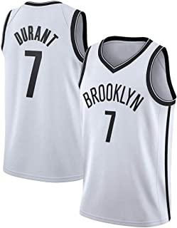 Men's Basketball Jersey Brooklyn Nets #7 Kevin Durant Sports Quick-Drying Training Workout Clothes Training Suit Basketbal...