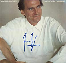 JAMES TAYLOR SIGNED AUTOGRAPH RECORD, ALBUM, VINYL - JT - LEGENDARY FOLK COUNTRY ROCK SINGER SONGWRITER - ROCK AND ROLL HALL OF FAME - CARLY SIMON - SWEET BABY JAMES, MUD SLIDE SLIM AND THE BLUE HORIZON, ONE MAN DOG, WALKING MAN, IN THE POCKET, FLAG, DAD LOVES HIS WORK, NEW MOON SHINE, HOURGLASS, OCTOBER ROAD, A CHRISTMAS ALBUM, COVERS, BEFORE THIS WORLD, AMERICAN STANDARD, NEVER DIE YOUNG, GORILLA