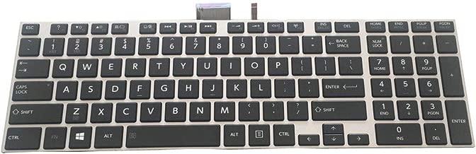 US Black Framed Backlit Keyboard for Toshiba Satellite L55-A L55D-A L55T-A (not fits L55-B L55T-B L55-C L55D-C L55W-C)