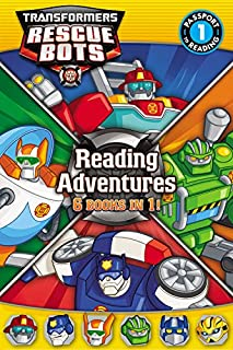 Transformers Rescue Bots: Reading Adventures (Passport to Reading Level 1)