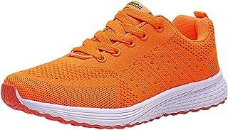 Chaussures De Sport Femme Ete Running Gym Fitness Confort Mesh Respirantes LéGer Pas Cher A La Mode Tendance Soldes Chauss...