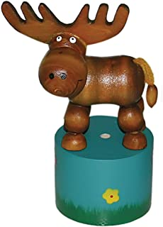 The original Toy Company Moose Thumb Puppet , Kid ,Toy , Hobbie , Nice Gift
