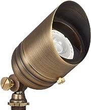 VOLT Fat Boy 12V Brass Spotlight with Stake