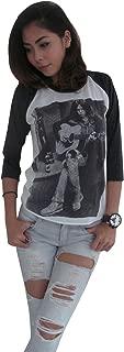 Women's Neil Young Heart of Gold 1971 Re-Printed Raglan T-Shirt