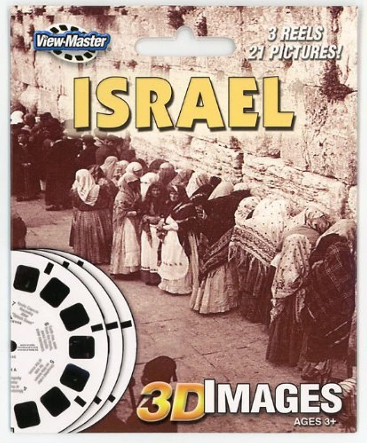 ViewMaster 3 Reel Set  ISRAEL  Old and New in 3D by 3Dstereo ViewMaster