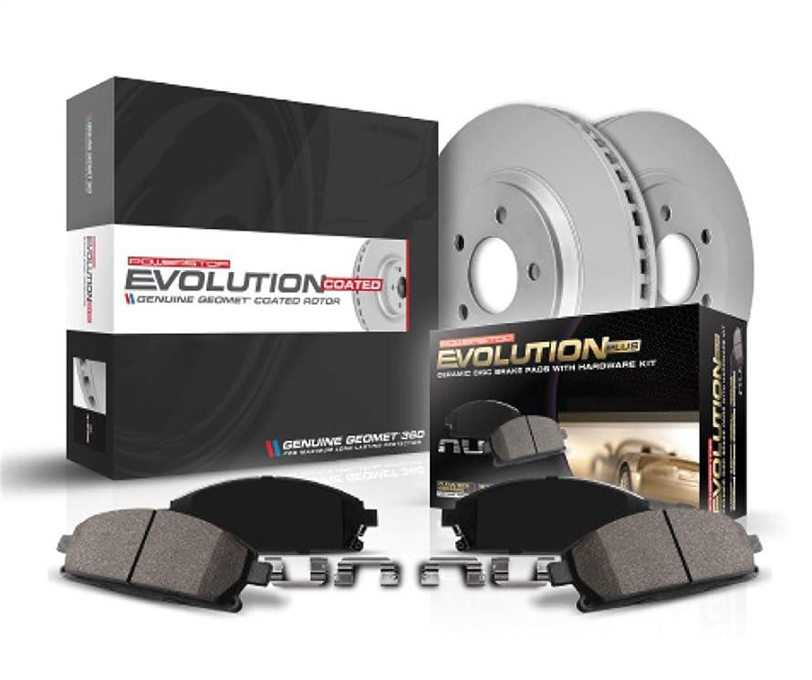Power Stop CRK3033 rear Z17 Evolution Geomet Coated Brake Kit