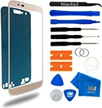 MMOBIEL Front Glass Replacement Compatible with LG K10 5.3 inch (Gold) Display Touchscreen incl Tool Kit