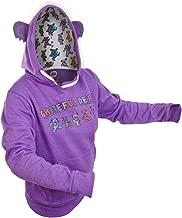 Old Glory Grateful Dead - Womens Dancing Bear Juniors Costume Hoodie Purple
