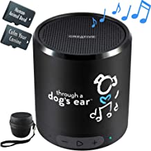 iCalmDog 5.0c Portable Speaker + 5-hrs Clinically-Tested Calming Music: Through a Dog's Ear | Your Proven Canine Anxiety Solution