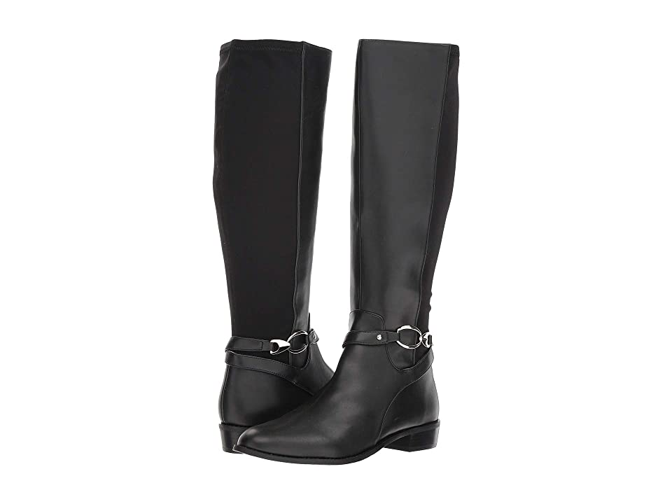 Tahari Reward Boot (Black Leather) Women