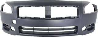 MBI AUTO - Painted to Match, Front Bumper Cover Fascia Replacement for 2009-2014 Nissan Maxima 09-14, NI1000258
