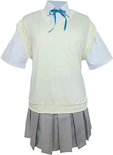 K-ON! Sakuragaoka High Summer School Uniform Yui Hirasawa Cosplay Costume