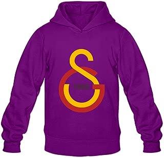 Men's Galatasaray Long Sleeves Hoodies Sweatshirt Ash Customized by Rahk