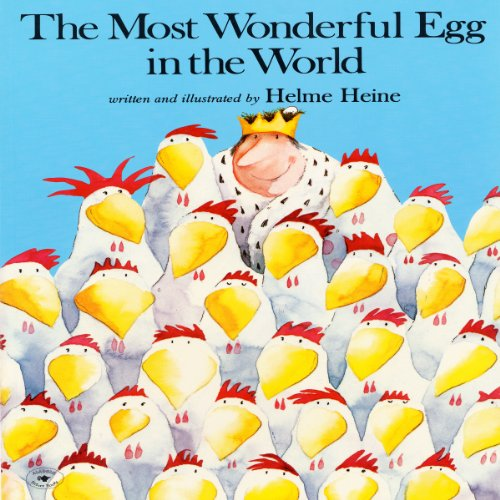 The Most Wonderful Egg in the World  audiobook cover art