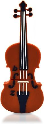 818di shop no1330002USB Flash Drive strumento musicale Violino 3d marrone marrone marrone 128 GB - Trova i prezzi più bassi