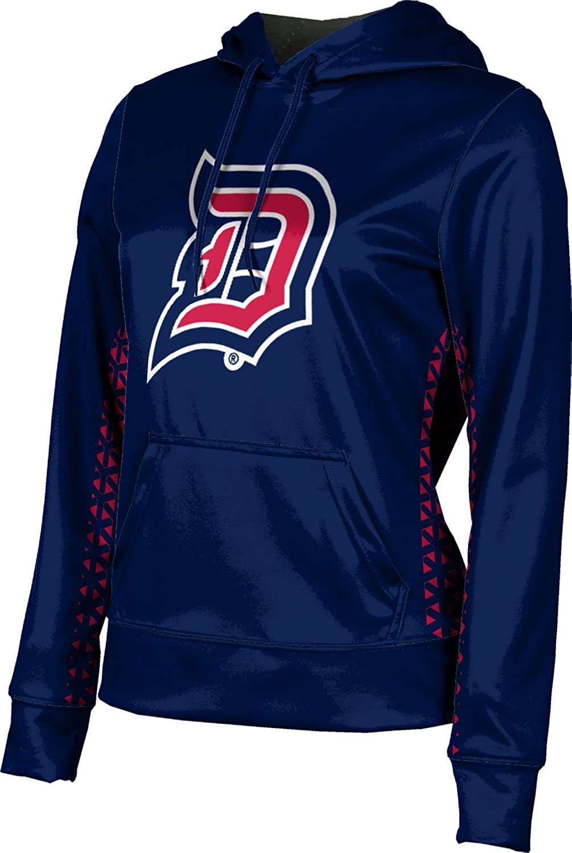 ProSphere Duquesne University Girls' Pullover Hoodie, School Spirit Sweatshirt (Geometric)