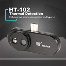 Thermal Imager HT-102 Thermal Imaging Handheld Mobile Phone Thermal Infrared Imager Support Video and Pictures Recording Face Detection thermal camera For Android