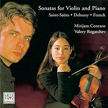 Debussy/Franck/Saint-Saens: Violin Sonatas