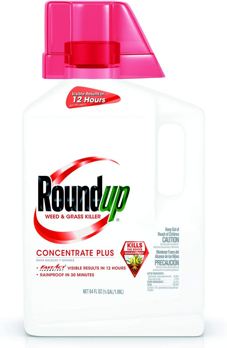 Roundup Weed Grass Popular popular Store Killer Concentrate Gal Plus 0.5