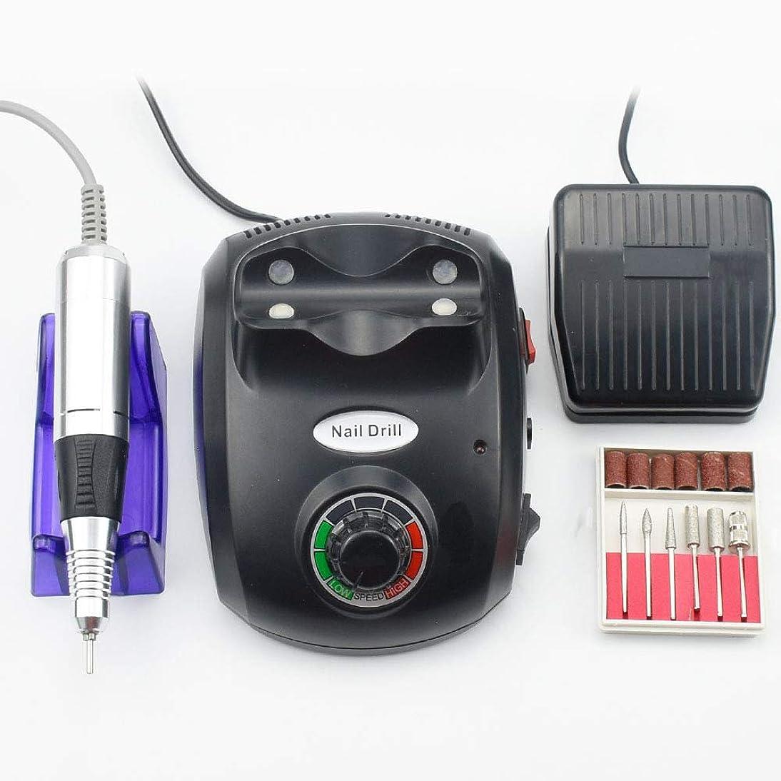 コンピューターを使用するミッションハンディ35000RPMネイルドリル電動マニキュア機ネイルアートマシン機器機器ネイルアート用電動ネイルファイルカッター