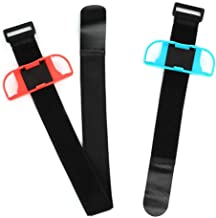 Adjustable A Wide Range of People Wristband for Switch, Band Leg Strap Dance Game Leg Strap, for Switch Ring