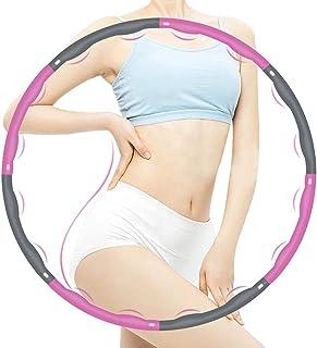 Hula Hoop för barn Vuxna Vikbar och justerbar fitnessövning Hula Hoop för viktminskning 1 2 kg