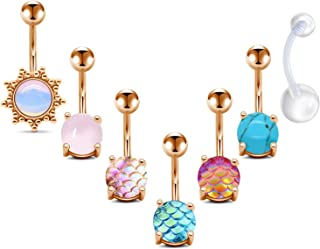 surgical stainless steel belly button rings