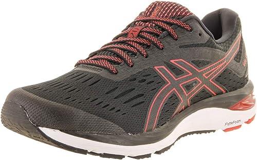 ASICS Gel-Cumulus 20 Men's Running zapatos negro rojo Alert 8 D(M) US