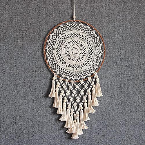 TYUTYU Dream Net Dream Catcher Decoración de la Pared Hecho a Mano Decoración de Porche de la decoración Pendiente