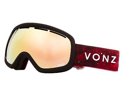 VonZipper Skylab Goggle (Merlot Satin/Wild Gold Chrome) Snow Goggles