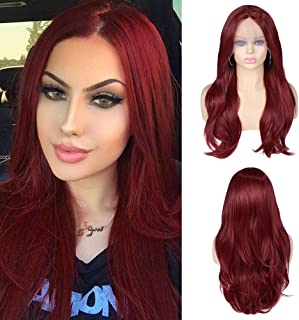 Best red frontal wig Reviews