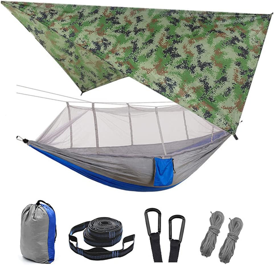 Max 68% OFF MXXQQ Camping Hammock with Mosquito Net Dou Cloth 3 Shade Set Long-awaited