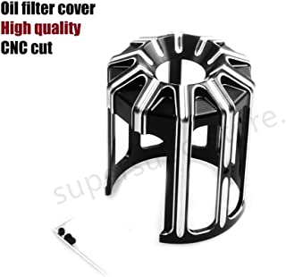 Machine Oil Grid cover electra glide FLHT 10-Gauge Oil Filter Cover For Harley street glide flhx Motorcycles