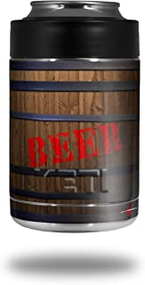 627a810fab1 Beer Barrel - Decal Style Skin Wrap fits Yeti Rambler Colster and RTIC Can  (COOLER