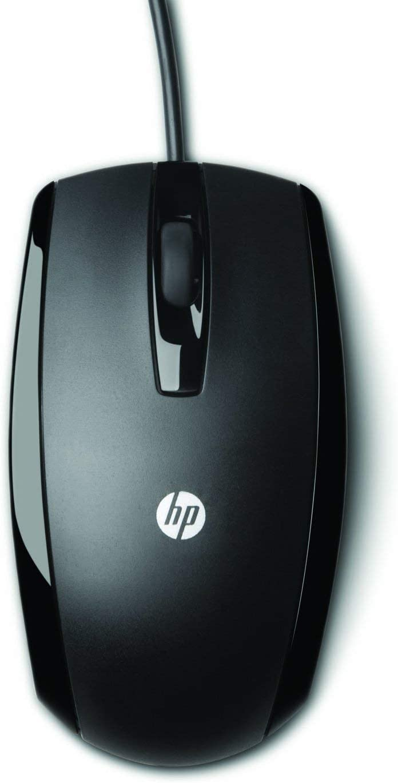 HP USB 3 Button Optical Mouse (KY619AA#ABA) (Renewed)