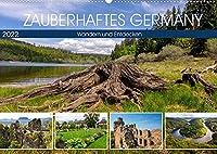 Zauberhaftes Germany (Wandkalender 2022 DIN A2 quer): Landschaft und Geschichte Germany (Monatskalender, 14 Seiten )