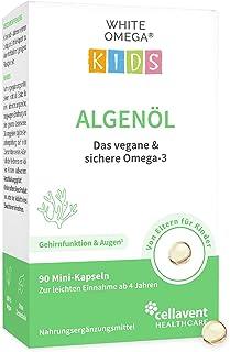 Nieuwe introductie – algenolie capsules voor kinderen – veganistische omega-3 – zonder carrageen – 330 mg DHA uit algen – ...