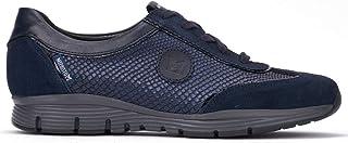 حذاء Yael الرياضي للنساء من Mephisto مصنوع من جلد الغزال الأسود