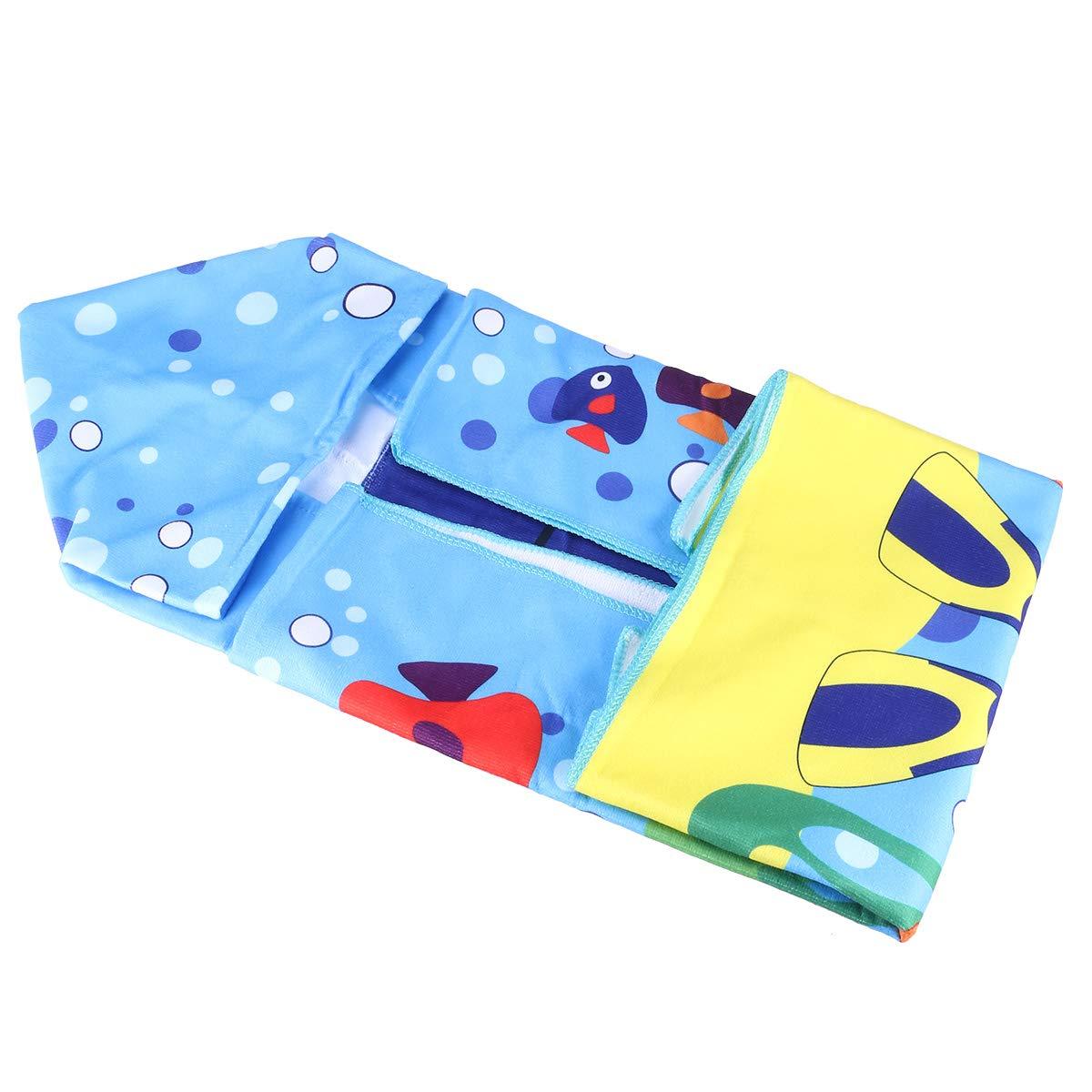 LIOOBO Toalla de baño para bebé con Capucha Patrón Lindo de algodón Toalla con Capucha de bebé para bebés Niños pequeños: Amazon.es: Hogar