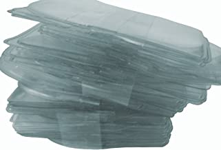Poker Weight 100 New Individual Clear Plastic Sleeves for Coins &/or Jewelry (Medium Size)