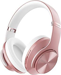 DOQAUS Bluetooth Koptelefoon over ear, [tot 52 uur] Draadloze Koptelefoon met 3 EQ-modi, Dubbele 40 mm Drivers, Geheugen-e...
