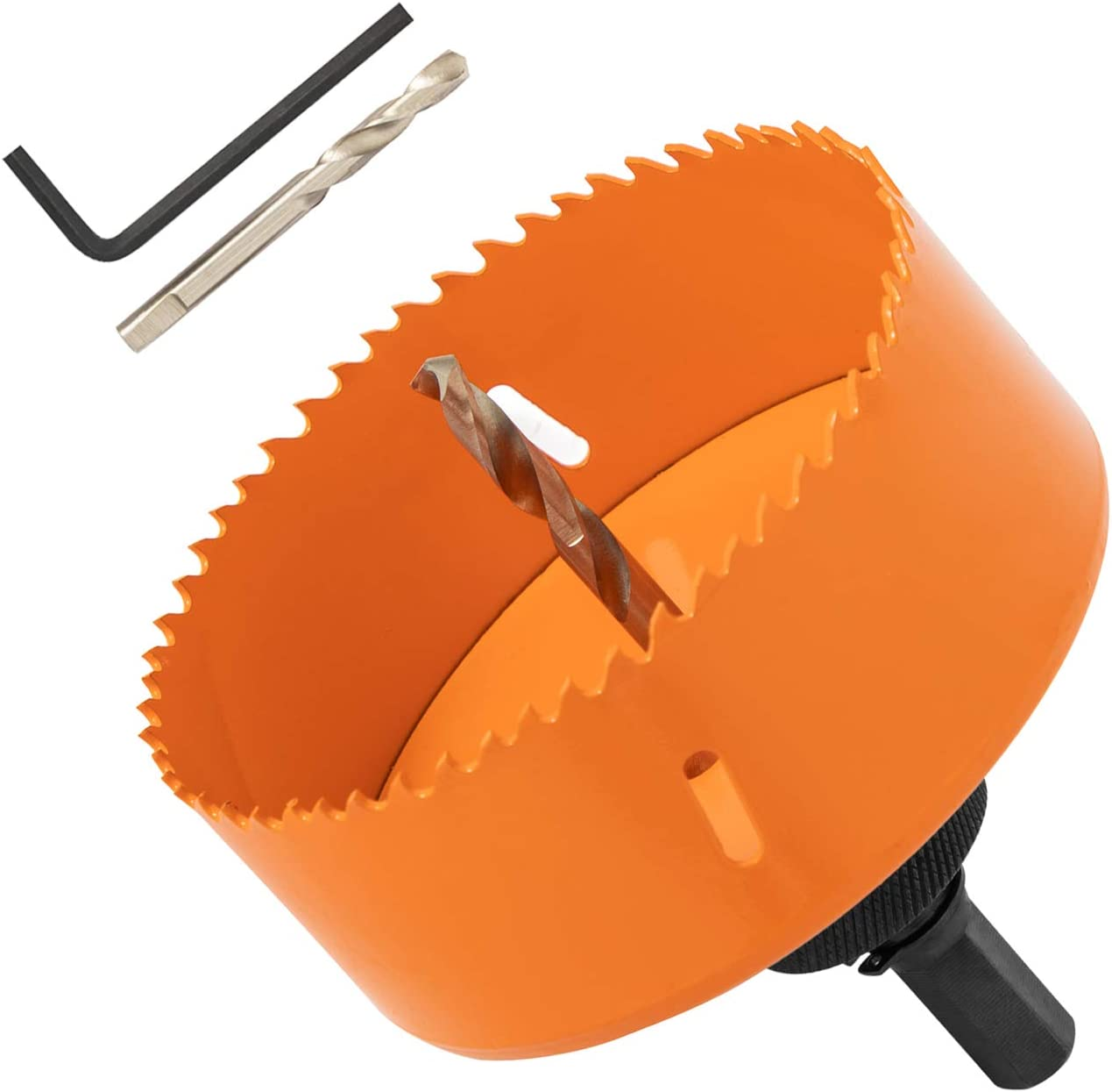 SUNGATOR 4-Inch Bi-Metal 100% quality 35% OFF warranty Hole Saw Kit Spare Arbor Pilot and with